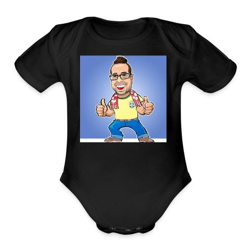 Caricatura Rainer - Organic Short Sleeve Baby Bodysuit