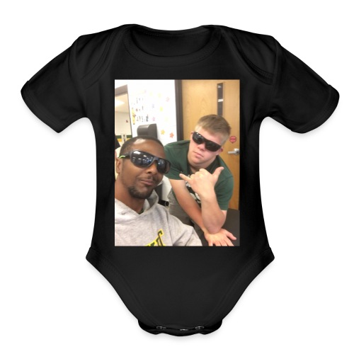 Bars And Tyler - Organic Short Sleeve Baby Bodysuit
