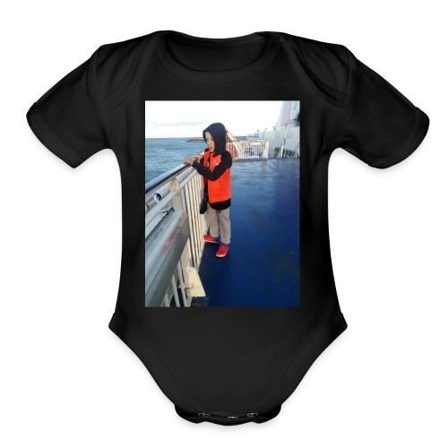 stena line - Organic Short Sleeve Baby Bodysuit
