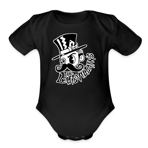 The LewisVILLAINS - Organic Short Sleeve Baby Bodysuit