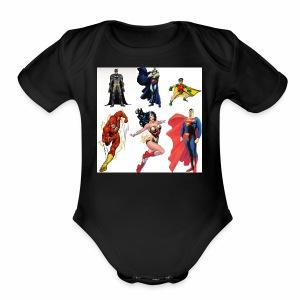 IMG 1323 - Short Sleeve Baby Bodysuit