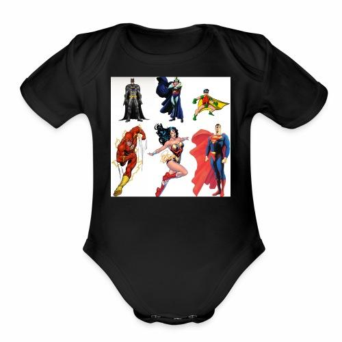 IMG 1323 - Organic Short Sleeve Baby Bodysuit