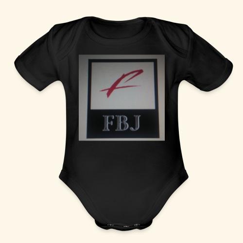 Original FBJ 2017 Merchandise - Organic Short Sleeve Baby Bodysuit