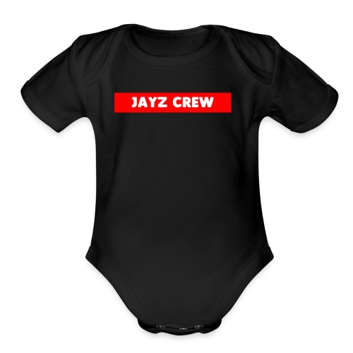 LIMITED JAY CREW SUPERME LOOK - Organic Short Sleeve Baby Bodysuit