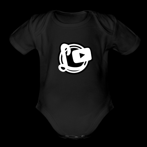 Logotipos Canal Leozzz 2 - Organic Short Sleeve Baby Bodysuit