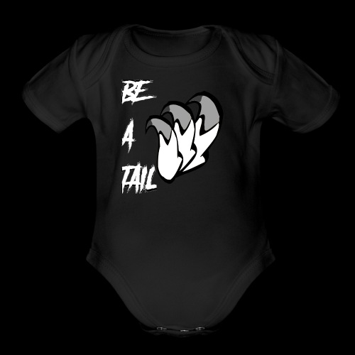 Be A Tail - Organic Short Sleeve Baby Bodysuit