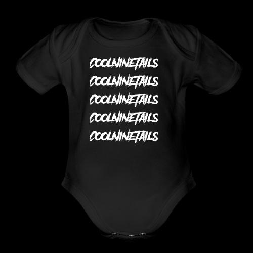 Multi Name - Organic Short Sleeve Baby Bodysuit