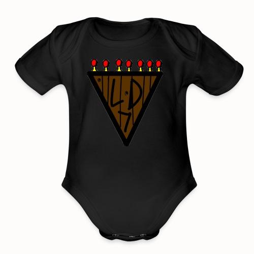Lord - Organic Short Sleeve Baby Bodysuit