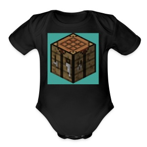 TheCrafters Logo - Short Sleeve Baby Bodysuit