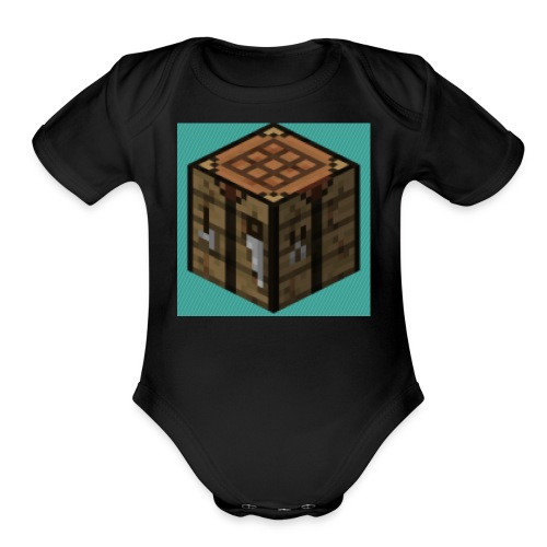 TheCrafters Logo - Organic Short Sleeve Baby Bodysuit