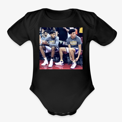 Brandon Ingram and Lonzo Ball - Organic Short Sleeve Baby Bodysuit