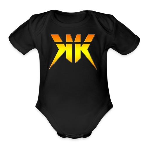 Krypton Gaming - Organic Short Sleeve Baby Bodysuit
