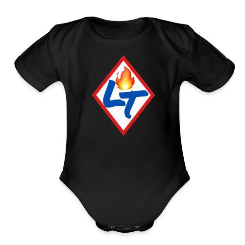 IMG 3307 - Organic Short Sleeve Baby Bodysuit