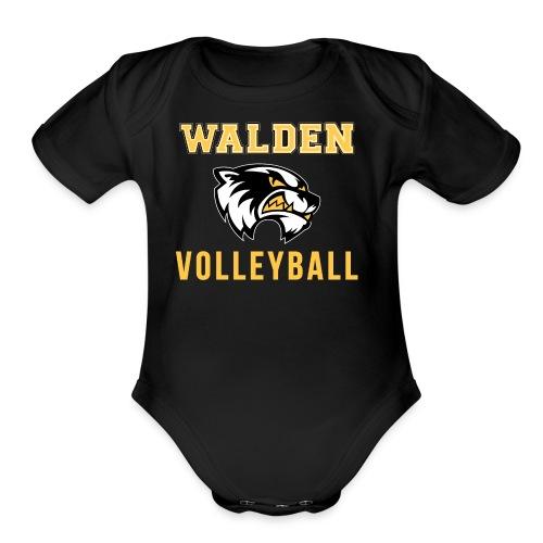 Walden Volleyball - Organic Short Sleeve Baby Bodysuit