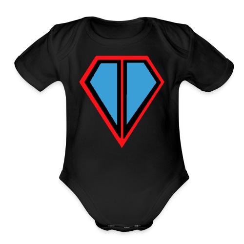 Crafty Krafter - Organic Short Sleeve Baby Bodysuit