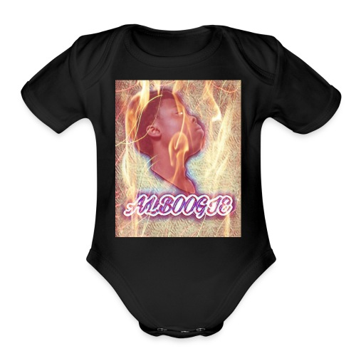 Al.Boogie - Organic Short Sleeve Baby Bodysuit