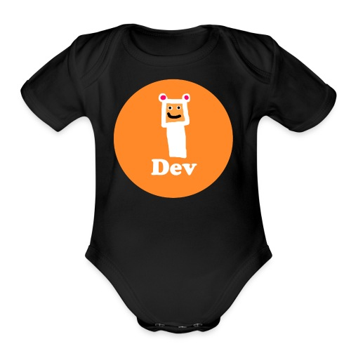 Dev Shirt - Organic Short Sleeve Baby Bodysuit