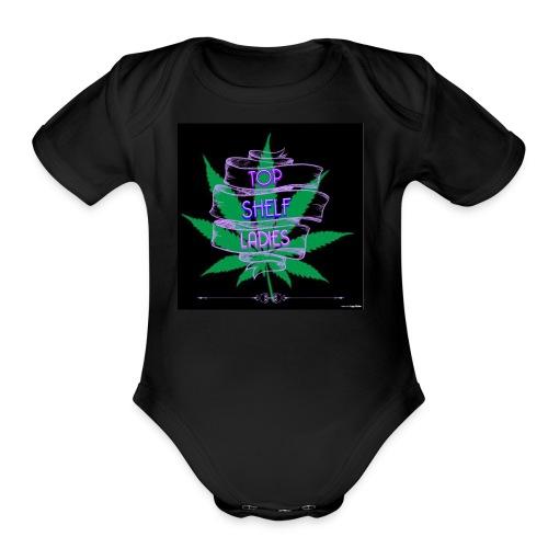TOP SHELF LADIES - Organic Short Sleeve Baby Bodysuit