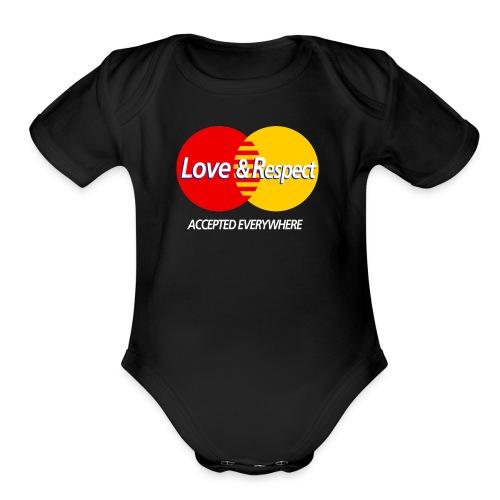 Love and Respect - Organic Short Sleeve Baby Bodysuit