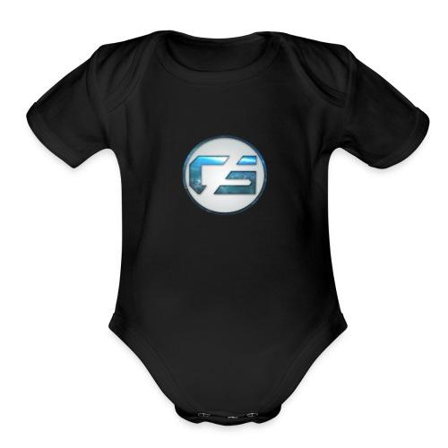 Cephalon Sipps New Logo - Organic Short Sleeve Baby Bodysuit