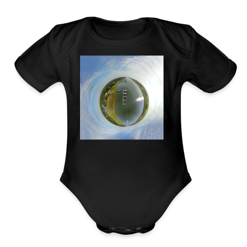 Intracoastal Waterway Tiny Planet - Organic Short Sleeve Baby Bodysuit