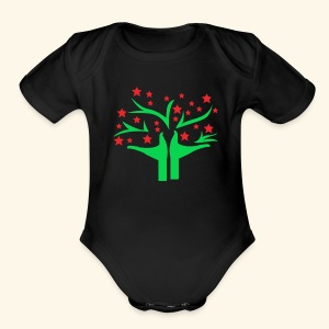 Be free - Short Sleeve Baby Bodysuit