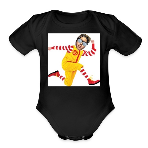 Mc Donald Sean dude - Organic Short Sleeve Baby Bodysuit