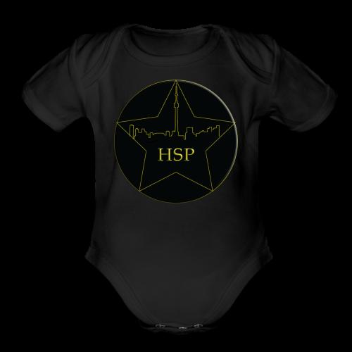 Hitstar Logo - Organic Short Sleeve Baby Bodysuit