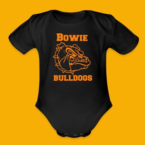 Bulldog Apparel - Organic Short Sleeve Baby Bodysuit