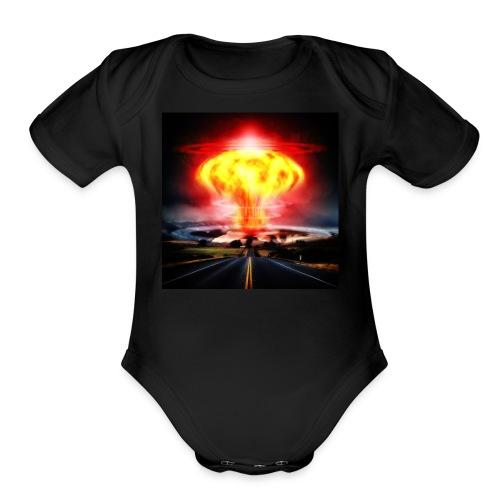 Apocalypse - Organic Short Sleeve Baby Bodysuit