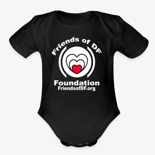 FODFWHITE - Organic Short Sleeve Baby Bodysuit