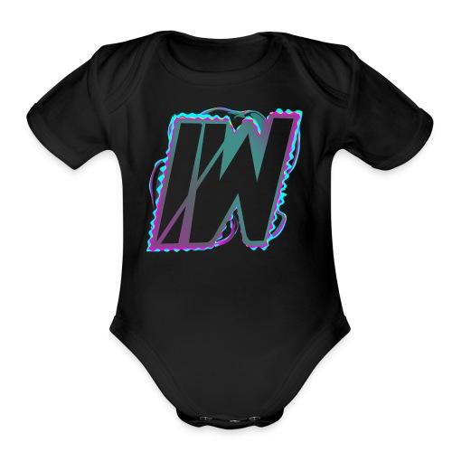 ItzWaterboy - Organic Short Sleeve Baby Bodysuit