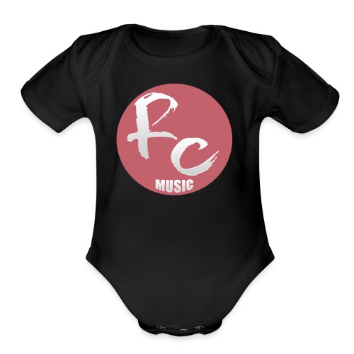 Robert Cellucci Music Shirt - Organic Short Sleeve Baby Bodysuit