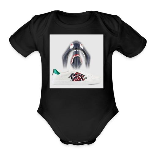 ANEZ IRS - Organic Short Sleeve Baby Bodysuit