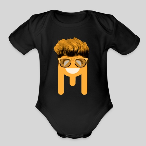 ALIENS WITH WIGS - #TeamDo - Organic Short Sleeve Baby Bodysuit