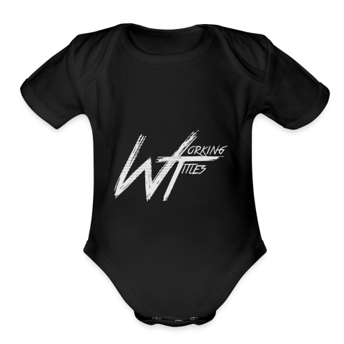 Working Titles official Merch - Organic Short Sleeve Baby Bodysuit