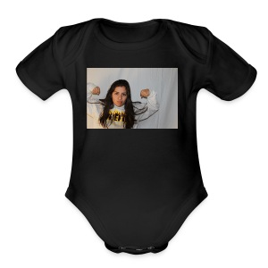 Didi Cortes - Short Sleeve Baby Bodysuit