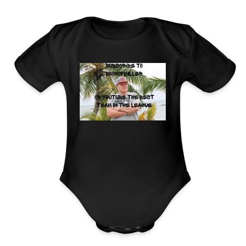 Bookofmiller Finest - Organic Short Sleeve Baby Bodysuit