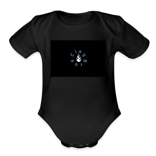 PicMonkey Sample - Organic Short Sleeve Baby Bodysuit