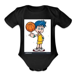Jaden Debonds merch - Short Sleeve Baby Bodysuit