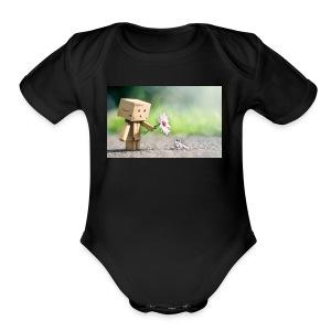 ca2ad5c353fd40cf36fd191a3d3a5777 - Short Sleeve Baby Bodysuit