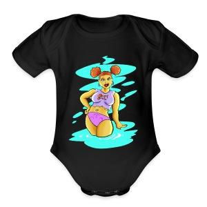 Babygirl! - Short Sleeve Baby Bodysuit