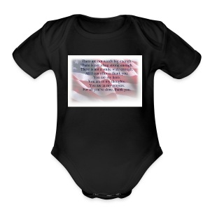 IMG 0068 - Short Sleeve Baby Bodysuit