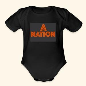 THE ANATION - Short Sleeve Baby Bodysuit