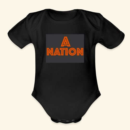 THE ANATION - Organic Short Sleeve Baby Bodysuit