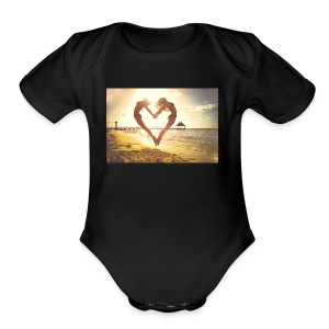 Love and lifestyle - Short Sleeve Baby Bodysuit