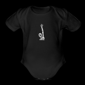 Skelton (any color) - Short Sleeve Baby Bodysuit