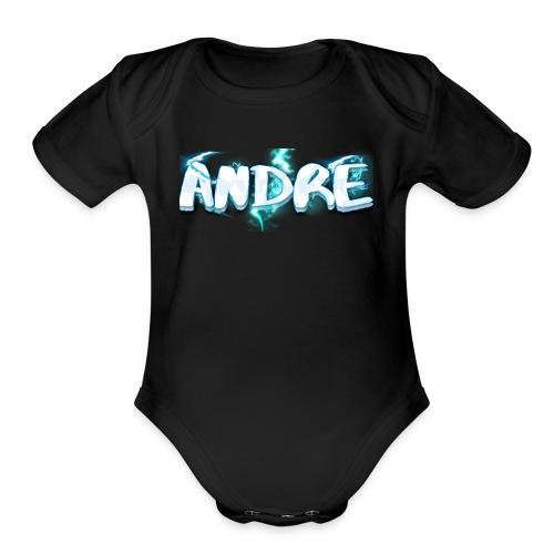 Lightning Andre Quevedo - Organic Short Sleeve Baby Bodysuit