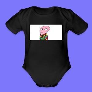 Peeber - Short Sleeve Baby Bodysuit