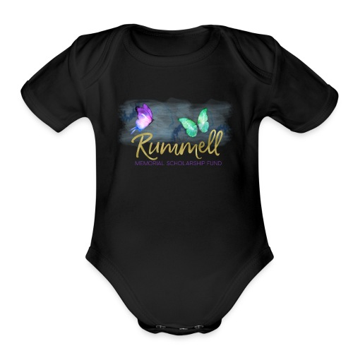 Rummell Memorial Scholarship Fund - Organic Short Sleeve Baby Bodysuit